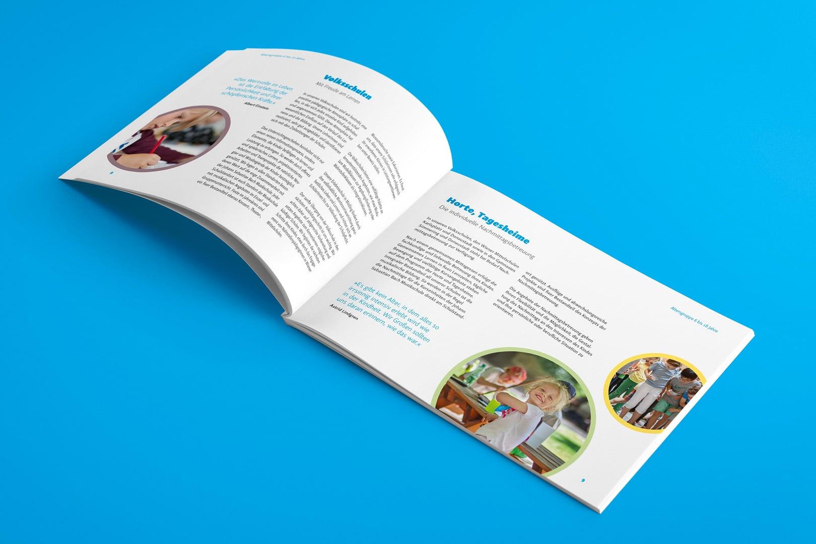 Broschüre Diakonie Bildung
