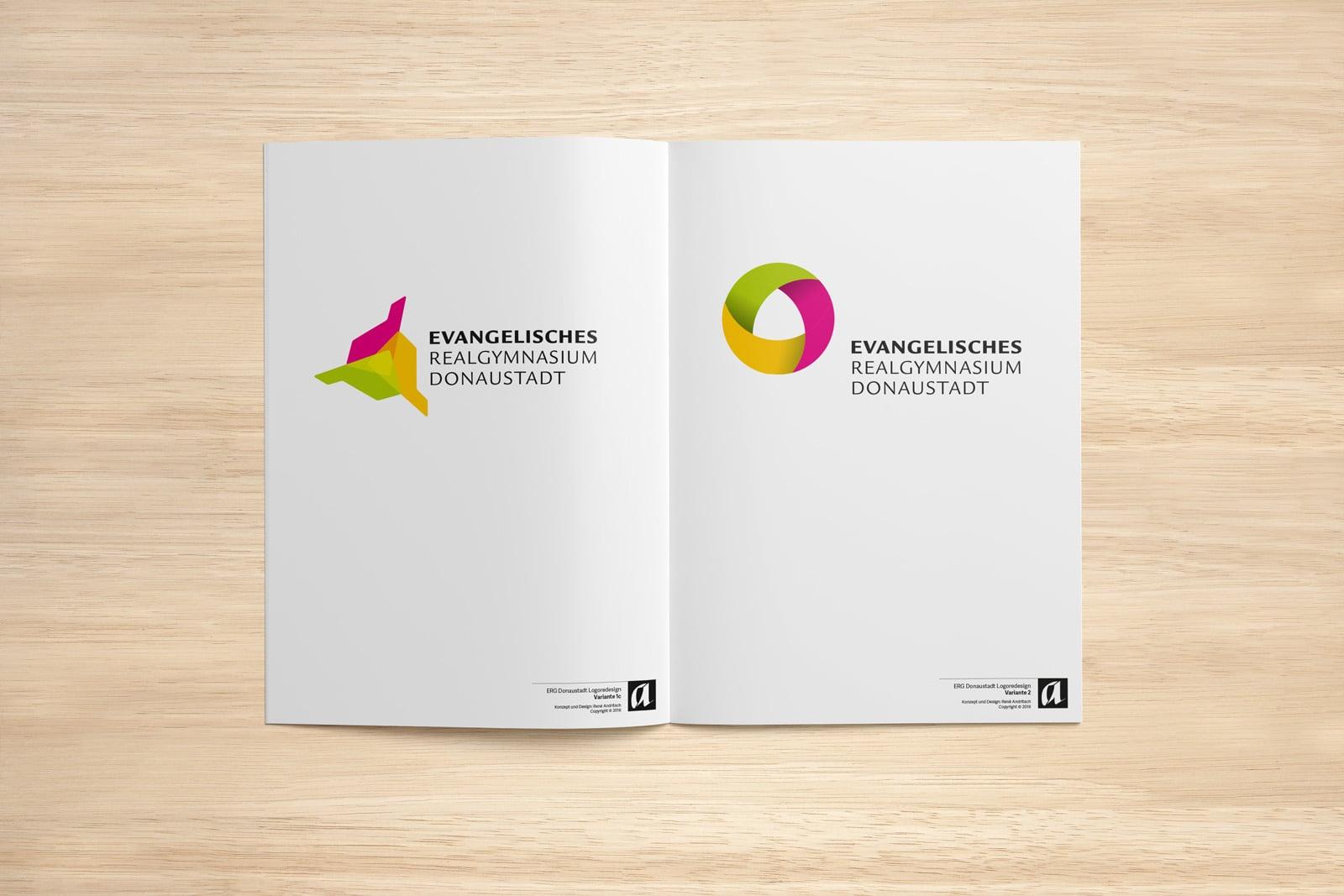 ERG Logodesign Prozess
